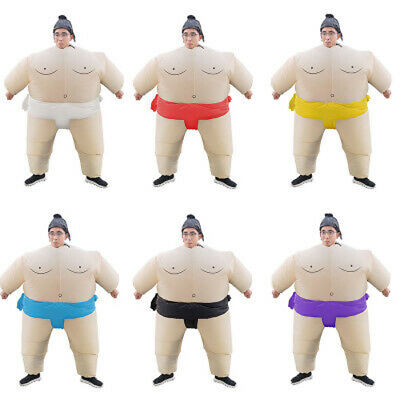 Halloween Kids/Adult Inflatable Sumo Wrestling Costume Wrestler Suit Unisex ](Child Sumo Wrestler Halloween Costume)