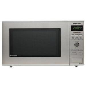 SELECTION OF PANASONIC MICROWAVES STAINLESS STEEL!---SALE EXTENDED!--OPEN FAMILY DAY 12-5PM!