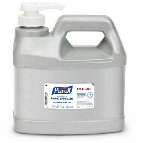 *1-Pack* Purell Advanced Hand Sanitizer .5 Gallon Gel 2L Pum