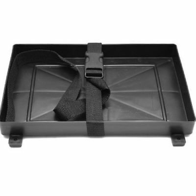 Group 27 Deep Cycle Plastic Battery Tray with Strap for Marine Boats RV Truck