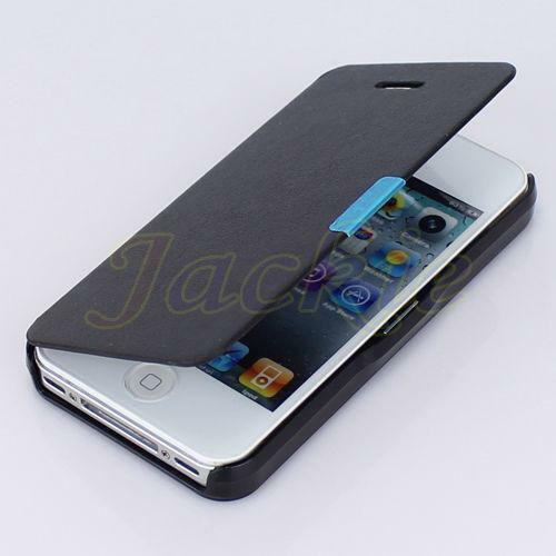 ebay iphone 4 case iphone 4 flip magnetic black ebay 14038