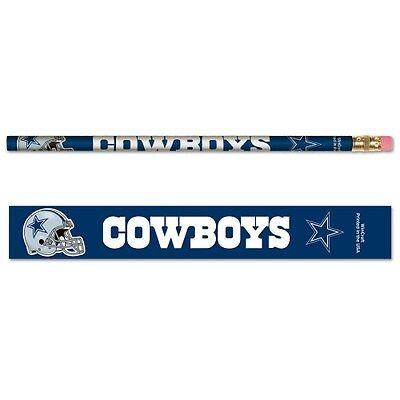 Dallas Cowboys Pencils 6 Pack](Dallas Cowboys Pencils)