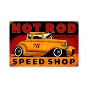 Speed Shop Sign