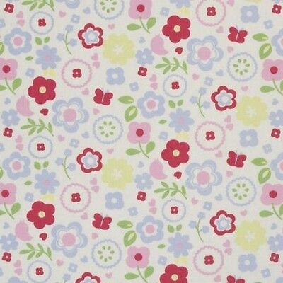 Floral Chintz (Clarke and Clarke Retro Floral Chintz 137cm/54