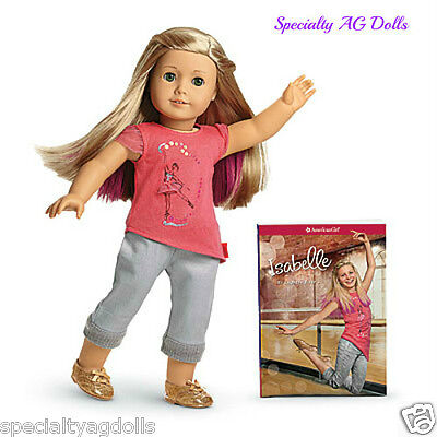"American Girl Isabelle Doll & Book 18"" New in Box Pink Highlights on Rummage"