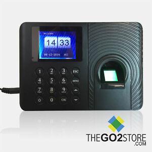 Biometric-Fingerprint-Bundy-Clock-Time-Attendance