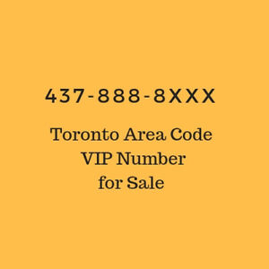 Rare VIP Toronto 2 digit Phone/Cell Number for Sale