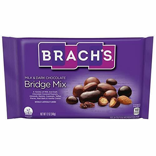 Brachs Bridge Mix - Laydown Bag, 12 Ounce -- 12 per case.