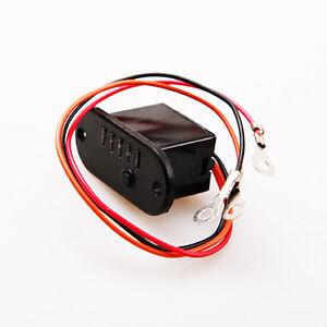 12v mini battery charge light 5 led voltmeter tester charging indicator ebay. Black Bedroom Furniture Sets. Home Design Ideas
