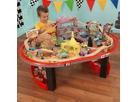 Disney cars radiador springs play table