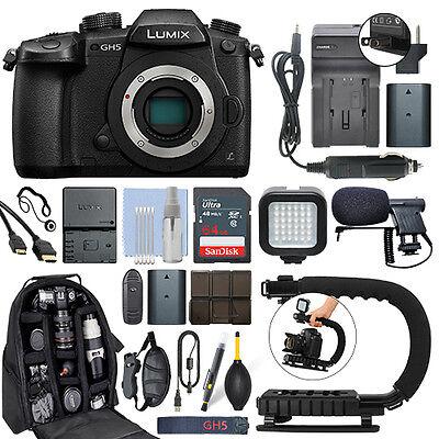 Panasonic Lumix DMC-GH5 20.3 MP 4K Digital Camera Body + 64G