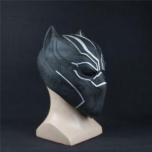 Mask Roles Cosplay Latex Mask Helmet For Black Panther Captain America Civil War