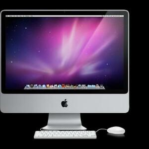 APPLE IMAC 20 INTEL CORE 2 DUO 4GB RAM 160GB HDD -Full Warranty. OpenBox Macleod Sale! (FINANCING AVAILABLE 0% Interest)