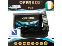 FREE TO VIEW SKY BOX WITH REMOTE AND HDMI CABLE..1 YR SUB.OPENBOX V9S.