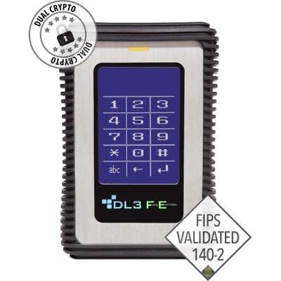 Data Locker 3 FE (FIPS Edition) Hard Drive 500 GB USB 3.0 Silver FE0500 NEW