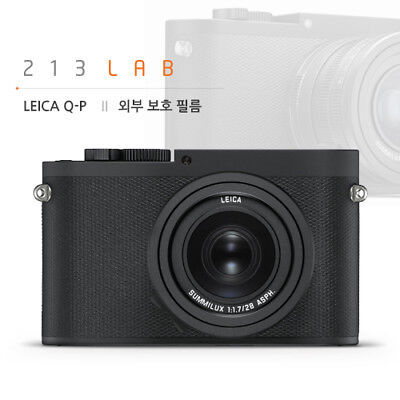 All Body Protection Film for LEICA Q-P (by 213LAB)