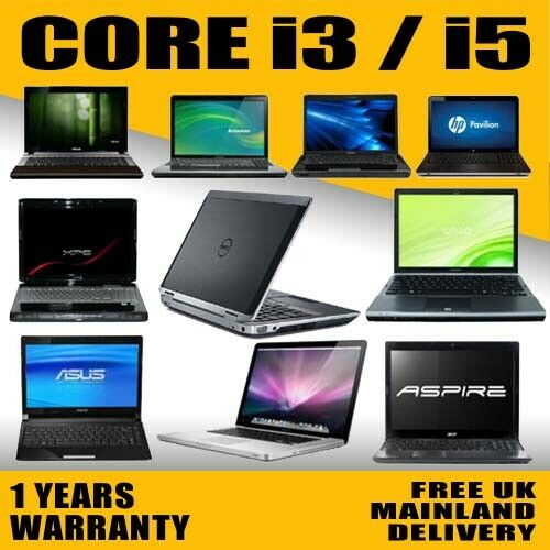 Laptop Windows - FAST CHEAP INTEL CORE i3 LAPTOP WINDOWS 10 250GB/500GB HD 4GB/8GB RAM