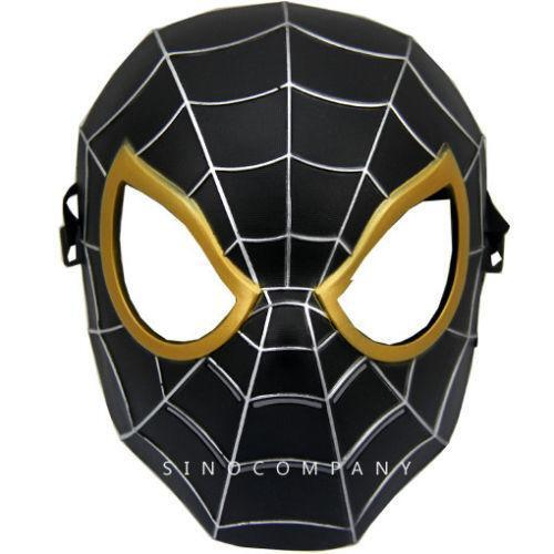 black spiderman mask - photo #1