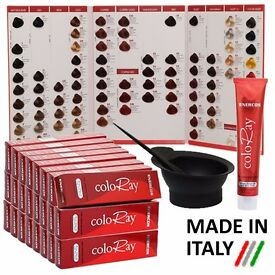 36 Coloray Permanent Hair Colour Dye Tint Professional Use Set