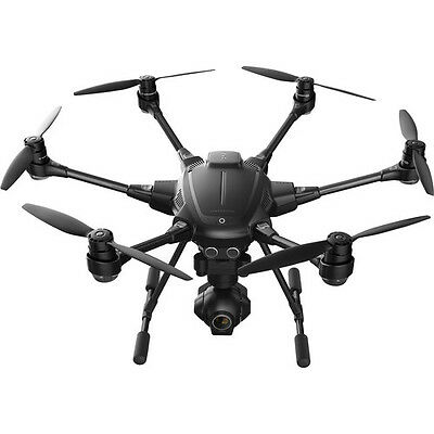 YUNEECTyphoon H Hexacopter with GCO3+ 4K Camera, Wizard Wand, and Backpack