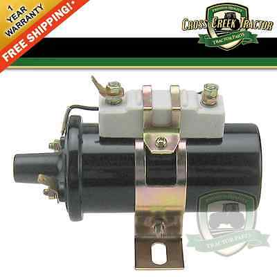 D4PE12029AA NEW Ford Tractor 6 or 12 Volt Ignition Coil 8N 9N 2N 600 700 - Ford 2n Tractor Parts
