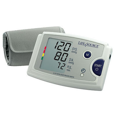 LifeSource UA-787EJ Quick Response Blood Pressure Monitor Easy Fit Cuff