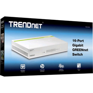 TRENDnet 16-Port Gigabit GREENnet Switch