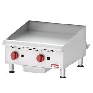 """Griddle on Sale - Flat top 15"""", 24"""", OMCAN (Brand new)"""