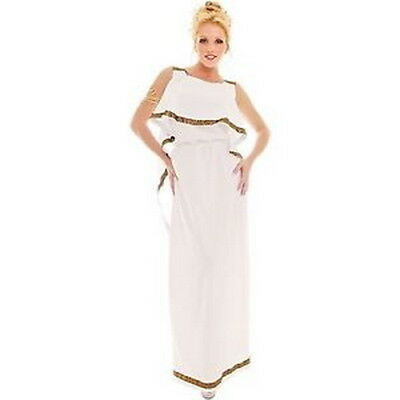 Greek Goddess Dress Floor Length Tank Top Style Dress W/ Attached Shawl XL  (Greek Style Costumes)