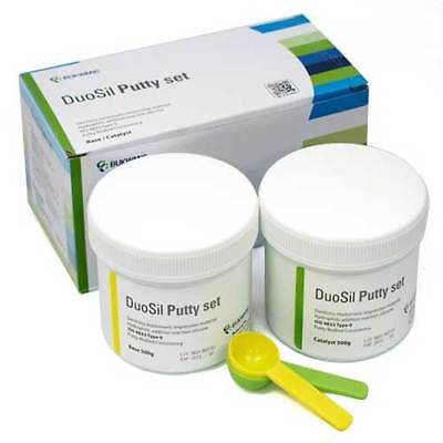 DuoSil Putty Set Impression Material 500g Base & Catalyst