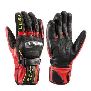 New Leki WC Ski Racing Trigger S Ti Gloves. Size Large – 9.5