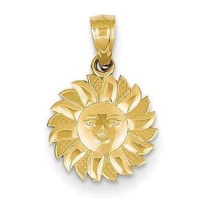 Sun pendant ebay gold sun pendant mozeypictures Image collections