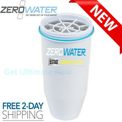 Replacement Filter for Zero Water Pitchers and Dispensers NSF Certified 1 Pack Dispenser Replacement Filter