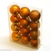 Orange Christmas Decorations