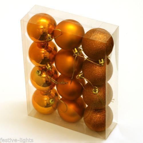 Christmas Decorations With Orange