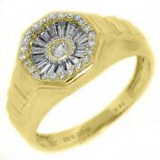 Mens Diamond Pinky Ring