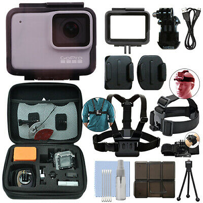 GoPro HERO7 White 10 MP Waterproof Camera Camcorder + Ultima