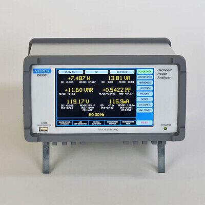 Vitrek Pa900 Precision Multi-channel Power Analyzer Mainframe 4ch