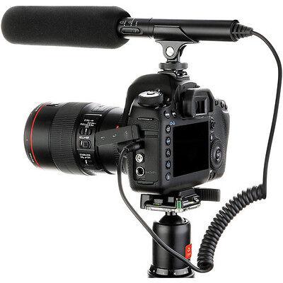 Pro a99 VM SC shotgun mic for Sony alpha a99 a77 a68 a65 a58 better audio (Best Sony Pro Cameras)