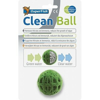 Carbon Filter Media (Superfish Clean Ball Carbon Zeolite Filter Media Moss Ball Decoration)
