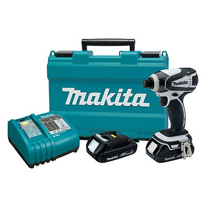 Makita LXDT04CW 18V Compact Lithium-Ion Cordless Impact ...
