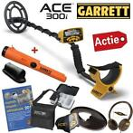 DETECTOR PLAZA: Garret ACE 300i MEGA-ACTIE met AT-Pinpointer