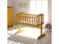 Mamas & Papas Breeze Crib, Nursery Furniture Swinging Baby Crib/Cot