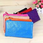 Faux Leather Coin Purses for Women with Phone Holder