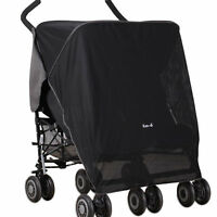 Koo-di Pack-it Sun & Sleep Double Stroller Cover - Black - mountain buggy - ebay.co.uk