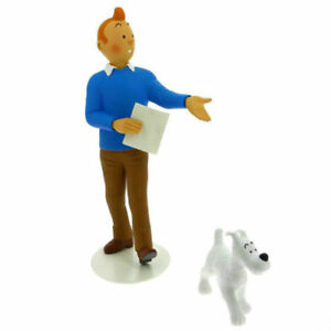 Tintin and Snowy Statue Le Musée Imaginaire by Moulinsart