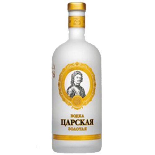 Vodka Ladoga  Zarskaja Gold 0,5L russischer Wodka Spirituosen
