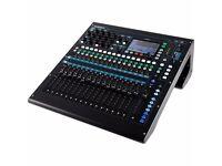 Allen Heath QU16 16 Ch Digital mixer with flightcase and dogbox