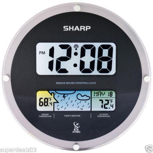 Sharp Atomic Clock Ebay
