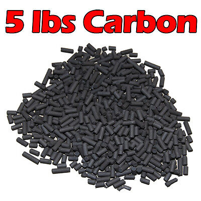 Carbon Pond Filter (Activated Carbon For Pond Aquarium Canister Filter Sump Mesh Bag Inlcuded 5)